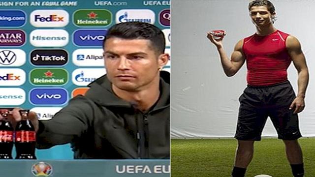Cristiano Ronaldo Pernah Jadi Bintang Iklan Minuman Bersoda